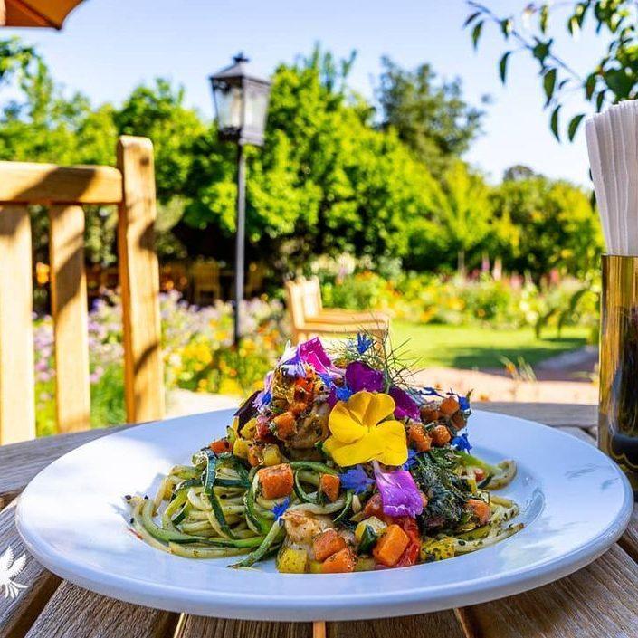 Gastronomía al aire libre en Tecate