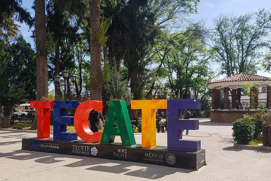 Letras en Tecate